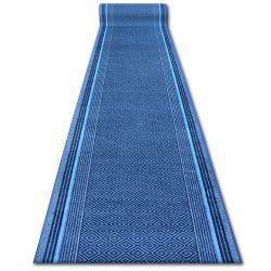 Läufer Antirutsch JURA blau DIAMANT
