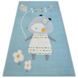 Teppich PASTEL 18403/032 - Maus Blau