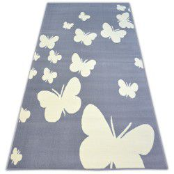 Carpet BCF FLASH BUTTERFLY 3976 grey