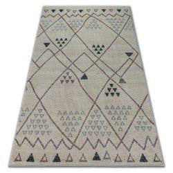 Teppich SOFT 2554 ETHNO cremig / Hellgrau
