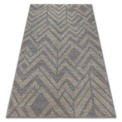 Teppich SOFT 8028 ETHNO TANNE braun / beige