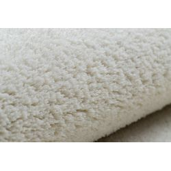 Carpet wall-to-wall VELVET MICRO cream 031 plain, flat, one colour
