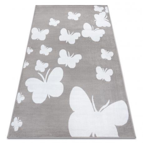 Koberec BCF ANNA Butterfly 2650 Motýli šedá