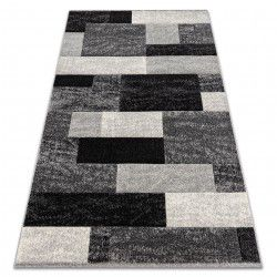 Carpet FEEL 5756/16811 RECTANGLES grey