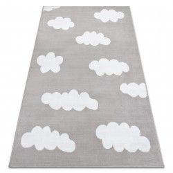 Koberec BCF ANNA Clouds 2661 mraky šedá