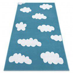 Koberec BCF ANNA Clouds 2661 mraky modrý