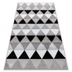 Carpet BCF ANNA Triangles 2965 Triangles grey