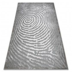 Carpet ACRYLIC YAZZ W8535 TREE RING STUMP grey