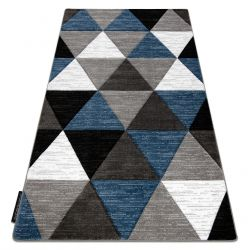 Carpet ALTER Rino Triangles blue