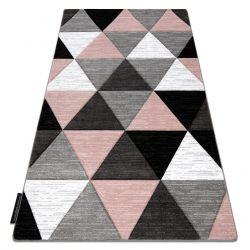 Teppich ALTER Rino Dreiecke rosa