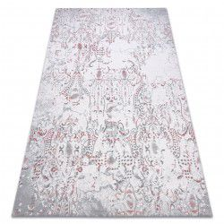 Carpet ACRYLIC DIZAYN 6167/0347 ivory / grey