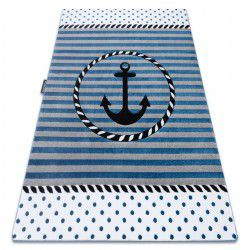 Carpet PETIT MARINE ANCHOR SEA blue