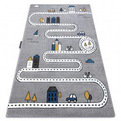 Carpet PETIT STREET STREETS grey