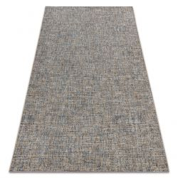 Carpet SISAL FORT 36202352 beige / blue plain color one-color melange