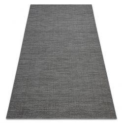 Teppich FORT SISAL 36201094 grau einfarbig glatt