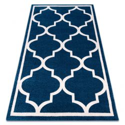 Carpet SKETCH - F730 blue/white trellis