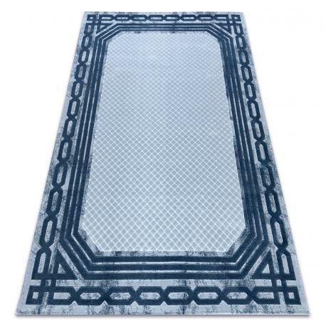 Carpet ACRYLIC VALS 0A028A C54 56 Frame geometric blue