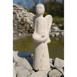 CANDLE HOLDER LARGE ANGEL