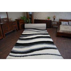 Teppichboden SHAGGY 5cm Modell 2490 weiße Creme