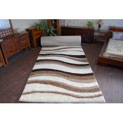 Teppichboden SHAGGY 5cm Modell 2490 ivory beige