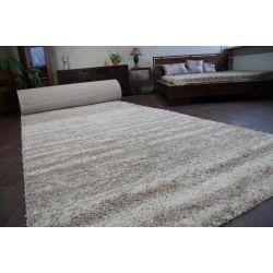 Teppichboden SHAGGY 5cm Modell 3383 ivory beige