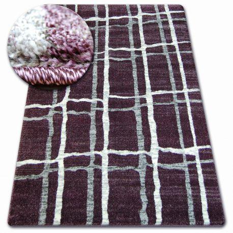 Teppich SHADOW 9359 Flieder / weiß