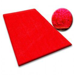Carpet - wall-to-wall SHAGGY 5cm red