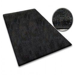 Carpet - wall-to-wall SHAGGY 5cm black