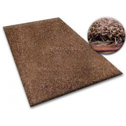 Teppichboden SHAGGY 5cm braun