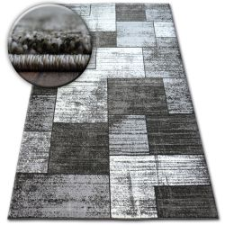 Kulatý koberec SHADOW 8386 černá / vizon