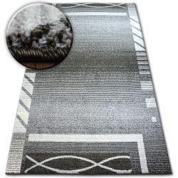 Kulatý koberec SHADOW 8597 šedá