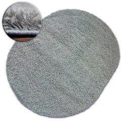 Tappeto ovale SHAGGY GALAXY 9000 griggio