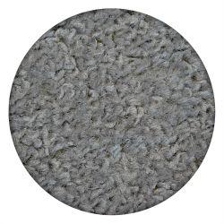 Carpet round ETON silver