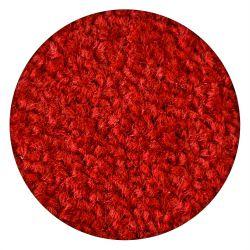 TAPPETO cerchio ETON rosso