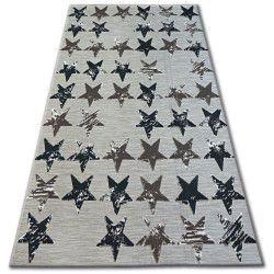 Carpet LISBOA 27219/975 Stars Brown