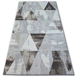 Teppich LISBOA 27216/655 Dreiecke Braun