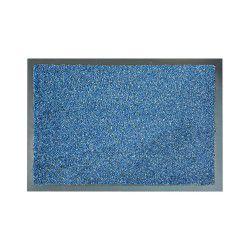 Придверный ковер прорезиненный PERU синий