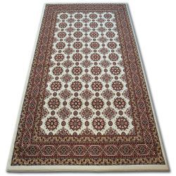 Tappeto KIRMAN 0004IE beige / bordo