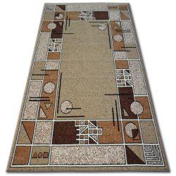 Teppich BCF BASE 3619 Rahmen beige