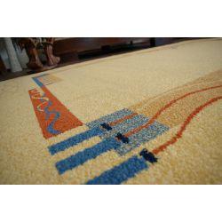 Teppich FRYZ RAWIK ocker