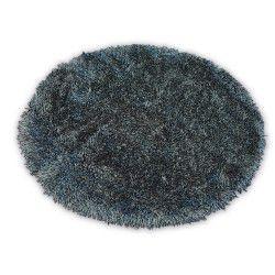 Teppich LOVE SHAGGY kreis Modell 93600 schwarz