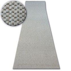 Sizal futó szőnyeg FLOORLUX minta 20433 ezüst SIMA