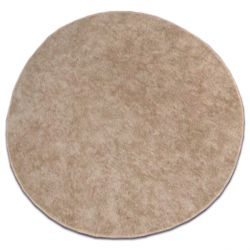 Kulatý koberec SERENADE svetle hnědý