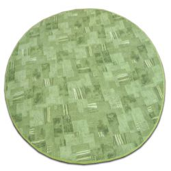 Carpet circle VIVA 227 green