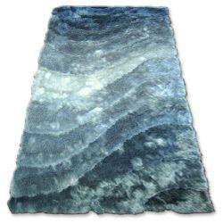 Carpet SHAGGY 3D - 201 grey silver