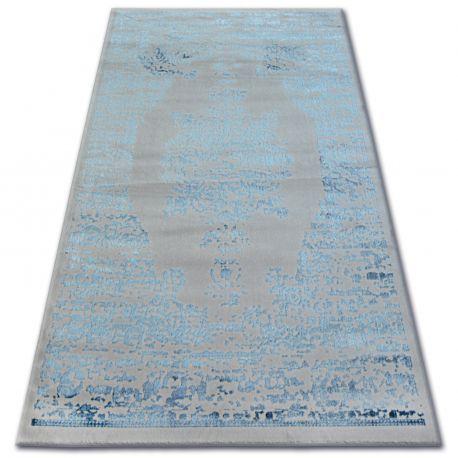 Килим AKRYL MANYAS 0917 сірий/блакитний