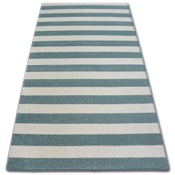 Carpet SKETCH - F758 turquoise/cream - Strips
