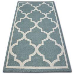 Sketch szőnyeg - F730 türkiz/krém Lóhere Marokkói Trellis