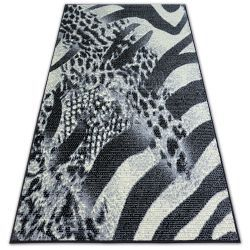 Tapis BCF FLASH SAFARI 3912 noir/gris