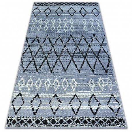 Carpet BCF BASE MAROC 3883 DIAMONDS grey/black